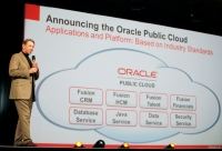 Oracle plans to announce a new platform as a service (PaaS) that will allow customers to build Java applications in the cloud.